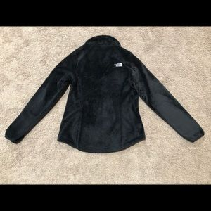 The North Face furry fleece black Jacket